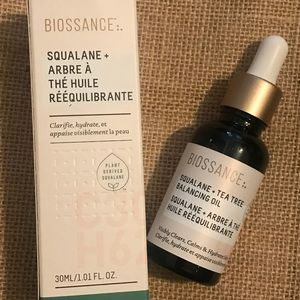 Never used, new Biossance oil